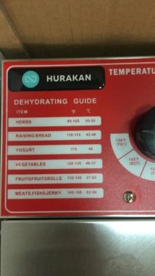Дегидратор Hurakan HKN-DHD10
