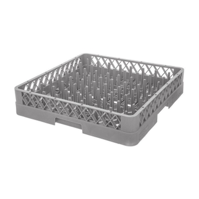 Кассета для мойки столовых приборов без перегородок (дно - мелкая сетка) арт. 90001087