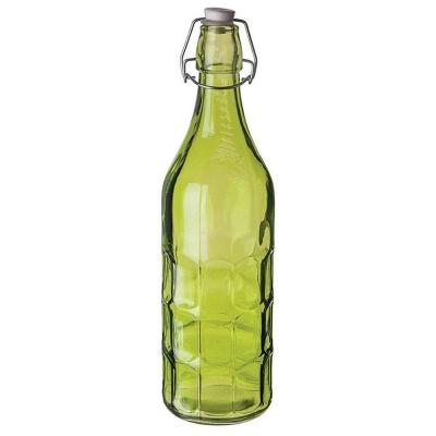 Бутылка зеленая с пробкой 1 л, P.L. Proff Cuisine арт. 81200145