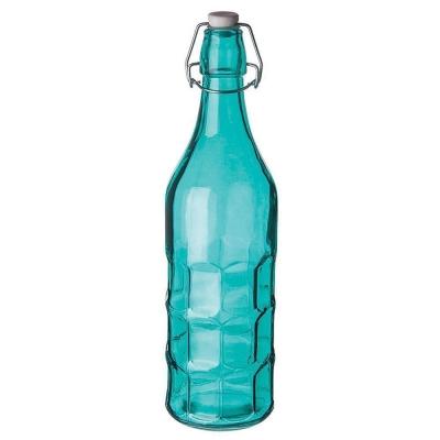 Бутылка голубая с пробкой 1 л, P.L. Proff Cuisine арт. 81200144